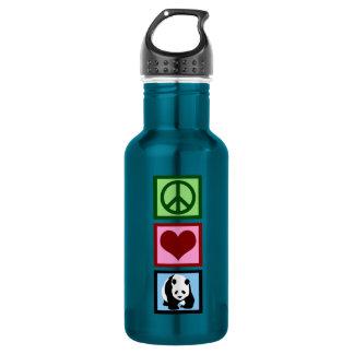 Peace Love Pandas 532 Ml Water Bottle