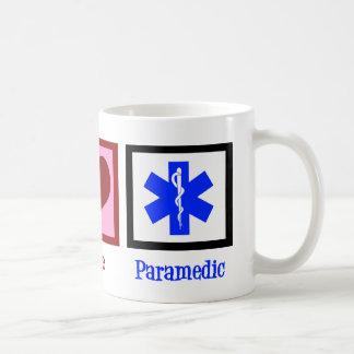 Peace Love Paramedic Coffee Mug