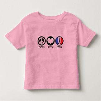 Peace Love Paris Tshirts