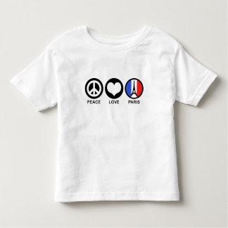 Peace Love Paris T-shirts