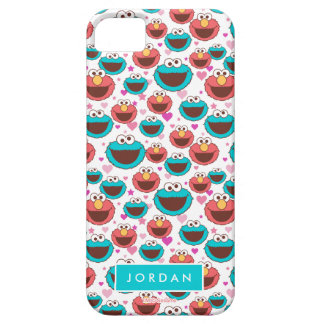 Peace & Love Pattern | Add Your Name iPhone 5 Cover