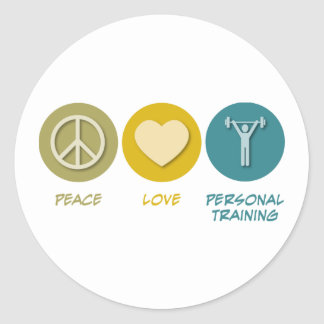 Peace Love Personal Training Stickers