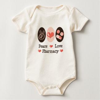 Peace Love Pharmacy Baby Bodysuit