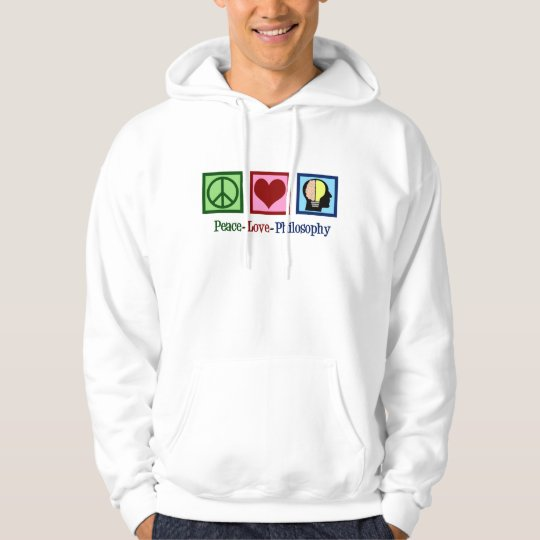 Peace Love Philosophy Hoodie
