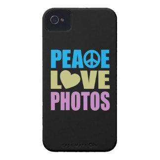 Peace Love Photos iPhone 4 Cases