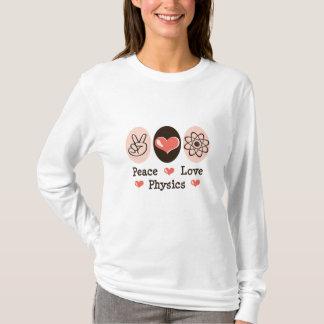 Peace Love Physics Long Sleeve Tee