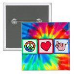 Peace, Love, Pigs Pin