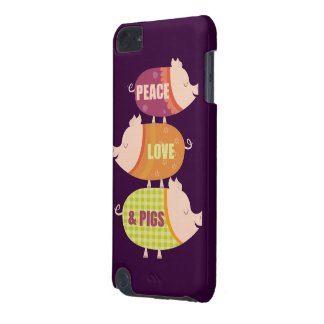 Peace Love Pigs Stack iPod Touch 5G Case