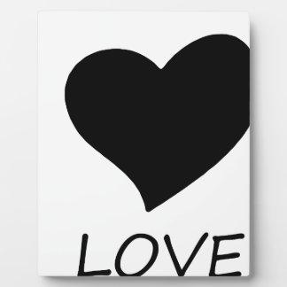peace love plaque