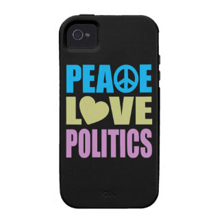 Peace Love Politics iPhone 4/4S Cover