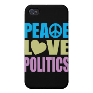 Peace Love Politics iPhone 4 Covers