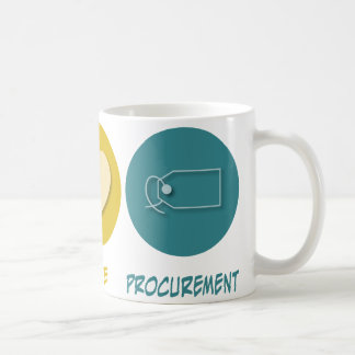 Peace Love Procurement Coffee Mug