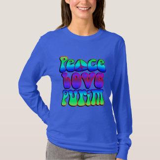 Peace Love Purim T-Shirt