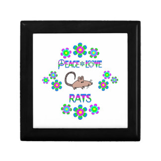 Peace Love Rats Gift Box