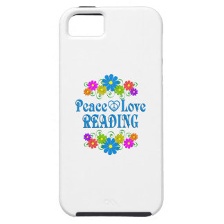 Peace Love Reading Case For The iPhone 5