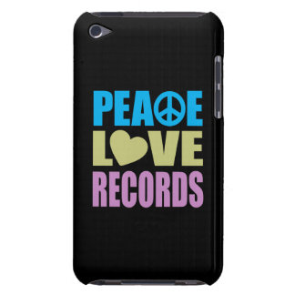 Peace Love Records iPod Touch Case