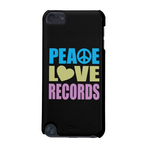 Peace Love Records iPod Touch (5th Generation) Cases
