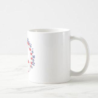 Peace, Love, Rock n Roll Coffee Mug