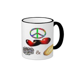 Peace,Love,Rock&Roll Coffee Mug