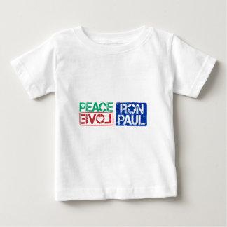 peace love Ron Paul Baby T-Shirt