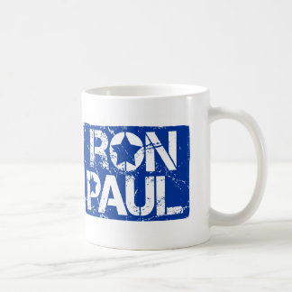 peace love Ron Paul Basic White Mug