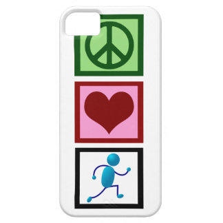 Peace Love Run iPhone 5 Case