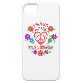 Peace Love Salsa Dancing Case For The iPhone 5