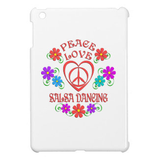 Peace Love Salsa Dancing iPad Mini Cover