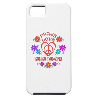 Peace Love Salsa Dancing iPhone 5 Cover