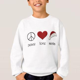Peace Love Santa Sweatshirt
