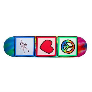 Peace Love Saxophones Skate Board Decks