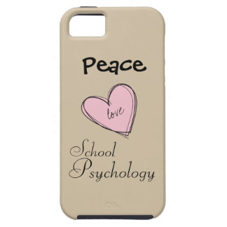 Peace, Love, School Psychology iPhone 5 Vibe Case iPhone 5 Cover