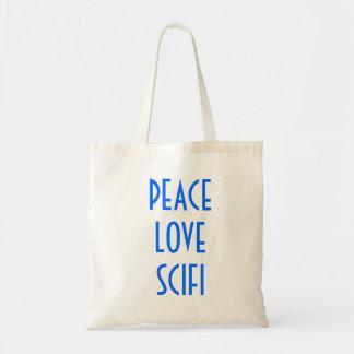 Peace, Love, Scifi Bags