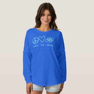 Peace Love Sharing Long Sleeve Jersey