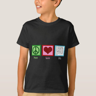 Peace Love Sign Language T-Shirt