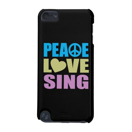 Peace Love Sing iPod Touch 5G Cover