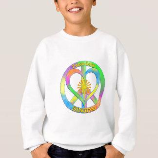 Peace Love Singing Sweatshirt