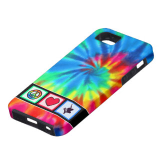 Peace, Love, Skateboarding iPhone 5 Cases