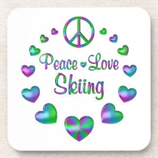 Peace Love Skiing Coaster
