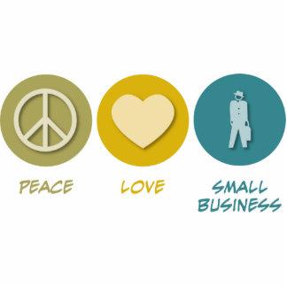 Peace Love Small Business Photo Cutout
