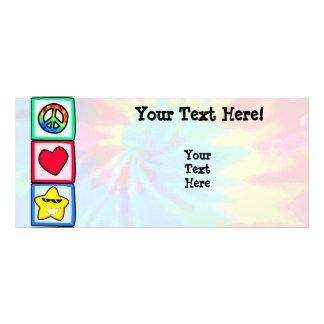 Peace, Love, Stars Custom Rack Cards
