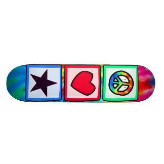 Peace Love Stars Skate Decks