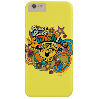 Peace Love Sunshine Barely There iPhone 6 Plus Case