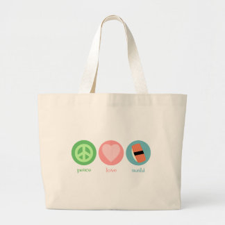 Peace, Love & Sushi Bag
