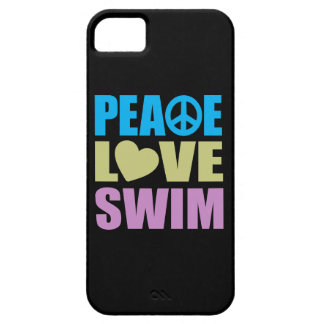 Peace Love Swim Case For The iPhone 5