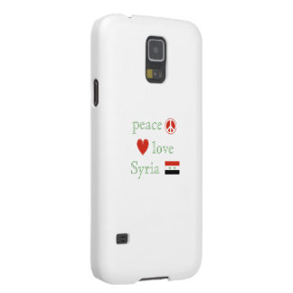 Peace Love Syria Galaxy S5 Covers