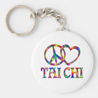 Peace Love Tai Chi Key Ring