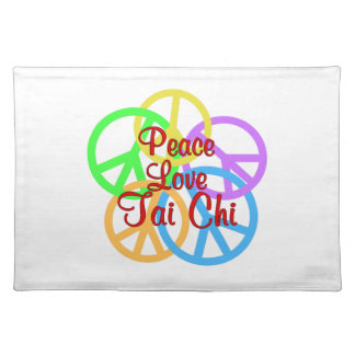 Peace Love Tai Chi Placemat