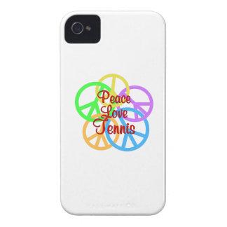 Peace Love Tennis Case-Mate iPhone 4 Case