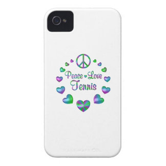 Peace Love Tennis iPhone 4 Covers